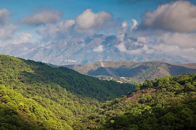 Malaga Province Photograph - Spain, Andalucia Region, Malaga by Walter Bibikow