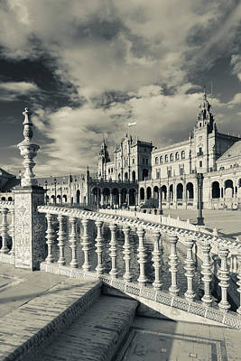 Andalucia Photograph - Spain, Andalucia Region, Seville by Walter Bibikow