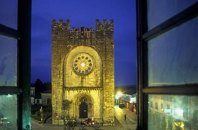 Spain. Portomar�n. San Juan Romanesque Art Print by Everett