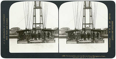 Aerial Tramway Photograph - Spain Portugalette, C1908 by Granger