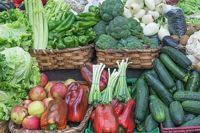 Spain, San Sebastian, Vegetables Art Print