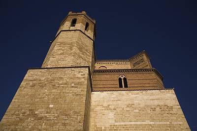Spain. Teruel. Montalb�n. Church Art Print by Everett