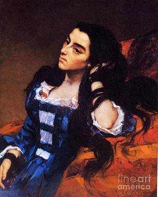 Painting - Spanish  Woman by Pg Reproductions