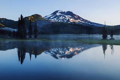 Sparks Lake Oregon Usa Art Print