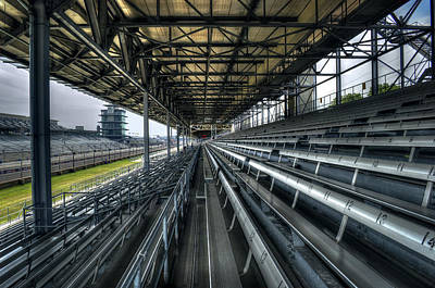 Indy Car Photograph - Speed Cavern by Daniel  Gundlach