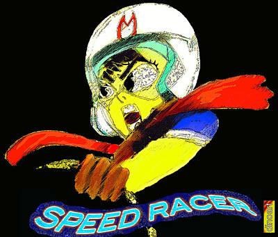 Speed Racer Art Print by Jazzboy