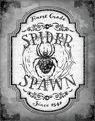 Potions Painting - Spider Spawn by Jennifer Pugh