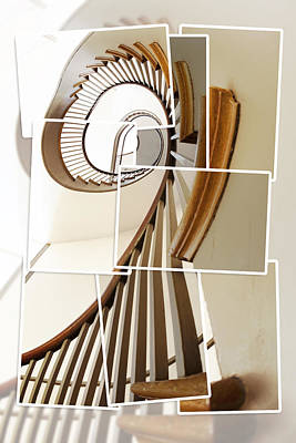 Photograph - Spiral Staircase by Alexey Stiop
