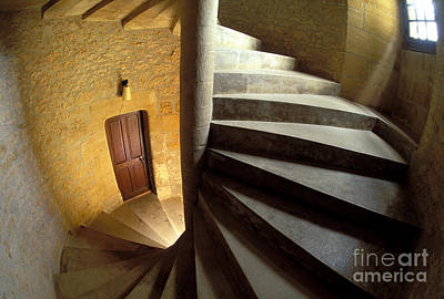 Spiral Staircase Print by Gregory G. Dimijian, M.D.