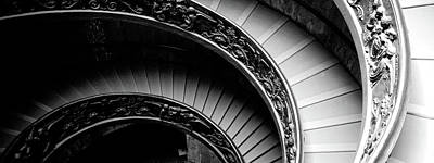 Endless Photograph - Spiral Staircase, Vatican Museum, Rome by Panoramic Images
