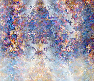 Spiritual Torrents Art Print by Christopher Gaston
