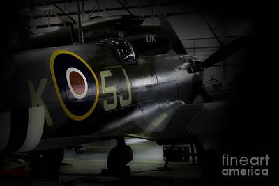 Spitfire Photograph - Spitfire Mk356   by J Biggadike