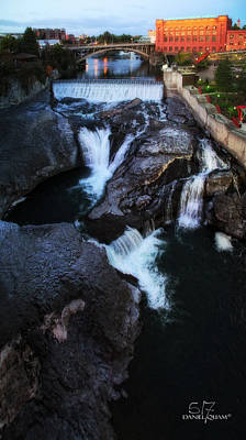 Photograph - Spokane Falls by Dan Quam