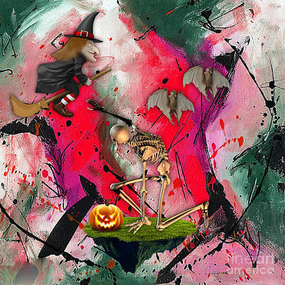 Spooky Mixed Media - Spooky by Marvin Blaine