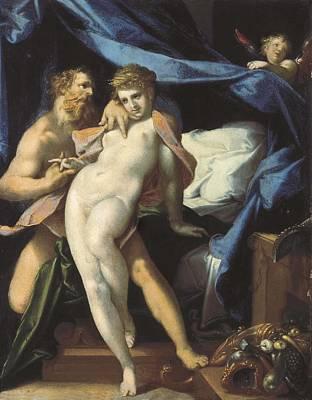 Maia Photograph - Spranger, Bartholomaeus 1546-1611 by Everett