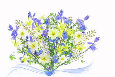 Bluebells Wall Art - Photograph - Spring Bouquet by Jacky Parker