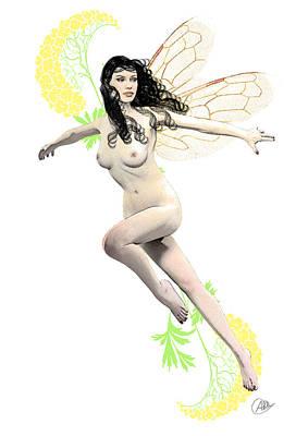 Buy Fine Art Online Digital Art - Spring Fairy by Quim Abella