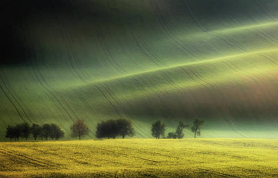 Czech Republic Photograph - Spring Fields by Piotr Krol (bax)