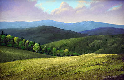 Painting - Spring Hills by Frank Wilson