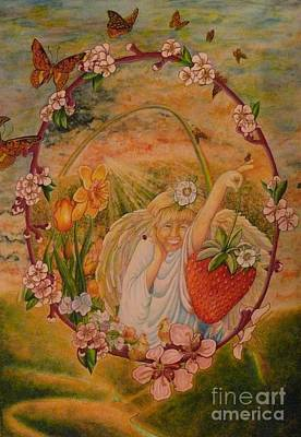 Painting - Spring by Jacquelyn Roberts