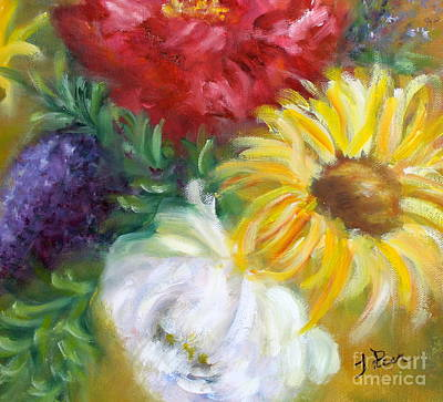 Painting - Spring Surprise by Tracey Peer