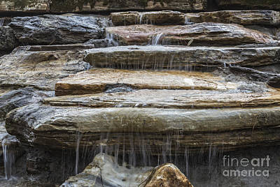 Spring Waterfall Art Print