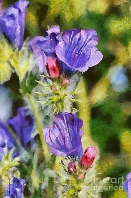 Painting - Spring Wild Flower by George Atsametakis