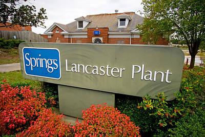 Photograph - Springs Lancaster Plant by Joseph C Hinson Photography