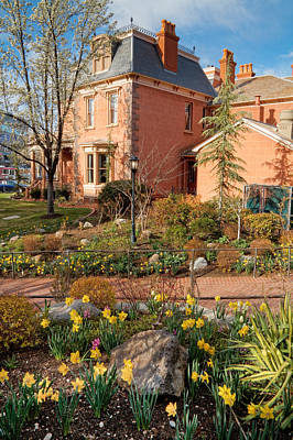 Photograph - Springtime At The Deveroux House In Salt Lake City by Douglas Pulsipher
