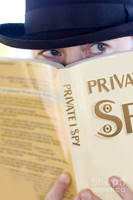 Spying Private Eye Art Print by Jorgo Photography - Wall Art Gallery