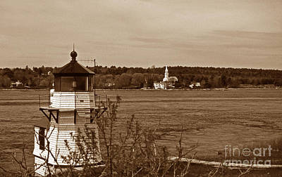 Pittsburgh According To Ron Magnes - Squirrel Point Lighthouse by Skip Willits