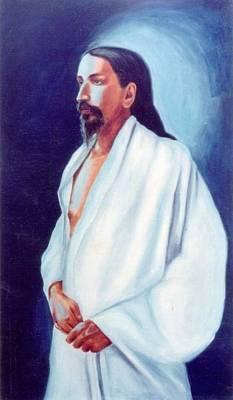 Painting - Sri Aurobindo  by Shiva Vangara