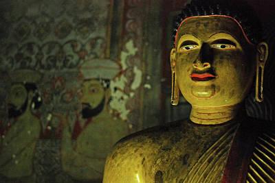 Sacred Artwork Photograph - Sri Lanka, Dambulla, Dambulla Cave by Stephanie Rabemiafara