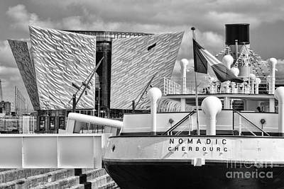 Photograph - S S Nomadic by Jim Orr