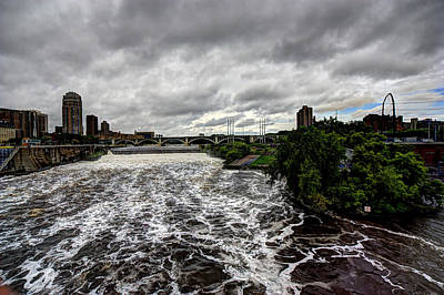 St Anthony Falls Art Print