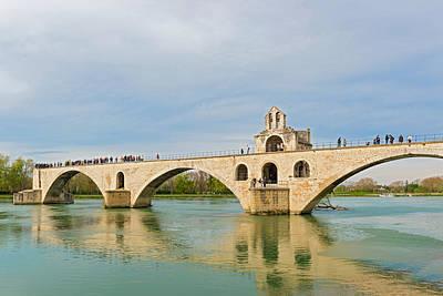 Photograph - St Benezet Bridge In Avignon France by Marek Poplawski