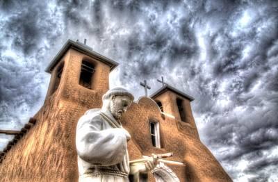 St Francis De Assisi Art Print by Tony Lopez