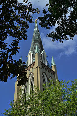 Photograph - St. John's Episcopal Church by Allen Beatty