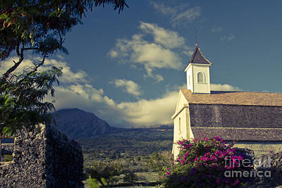 Photograph - St. Joseph Catholic Church Kaupo Maui Hawaii by Sharon Mau