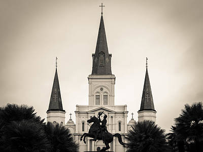 Photograph - St. Louis Cathedral by Scott Rackers