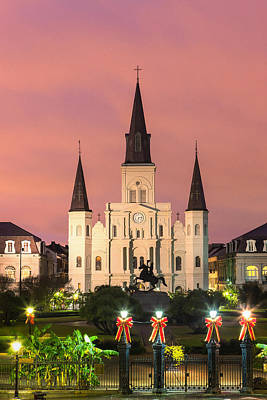 St. Louis Cathedral Vi Art Print