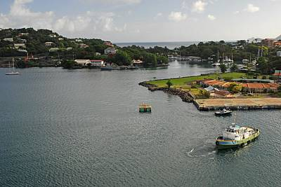 Photograph - St Lucia by Willie Harper