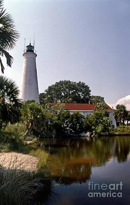 Go For Gold - St Marks Lighthouse by Skip Willits