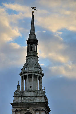 Photograph - St. Mary Le Bow by Steven Richman