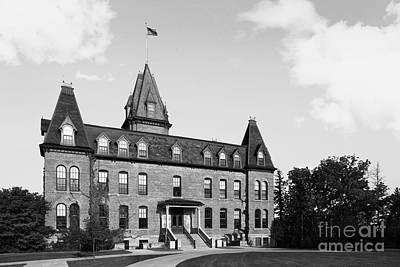 Old Main Photograph - St. Olaf College Old Main by University Icons