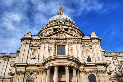 Katharine Hepburn - St Pauls Cathedral by Chris Day