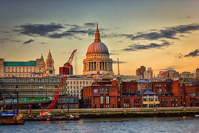 London Photograph - St Pauls Cathedral London by Ian Hufton
