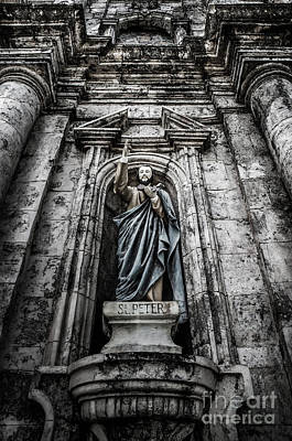 Photograph - Saint Peter The Apostle by Michael Arend