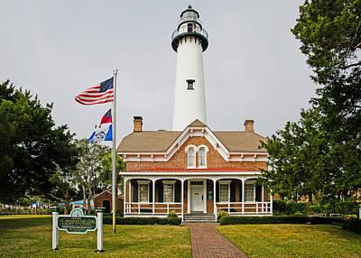Photograph - St. Simons Island Light House by Millard H. Sharp