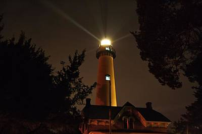 Photograph - St Simons Island Lighthouse 3 by Kathryn Meyer